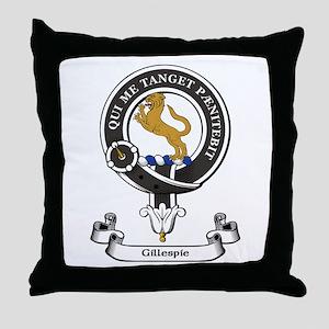 Badge-Gillespie [Stainton] Throw Pillow